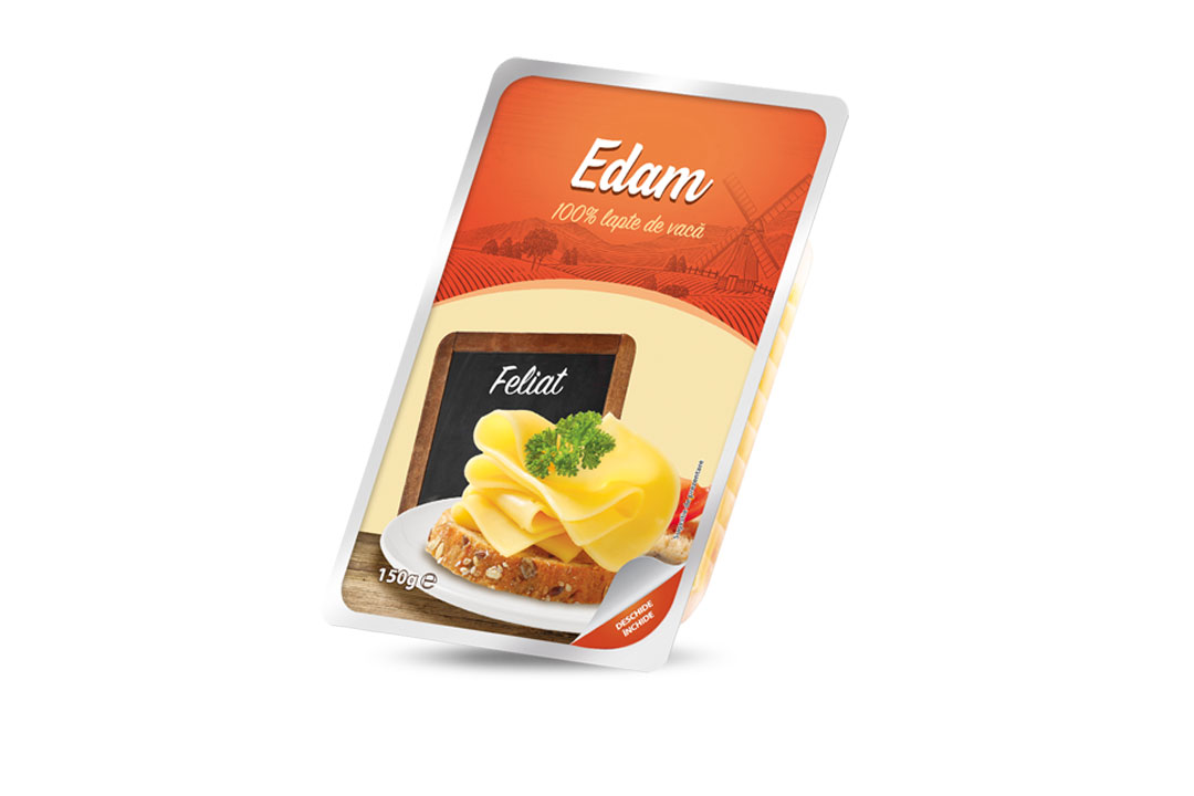 Edam sliced 150g